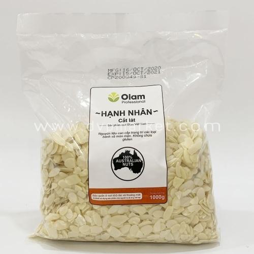 Olam - Hạnh nhân cắt lát 1kg