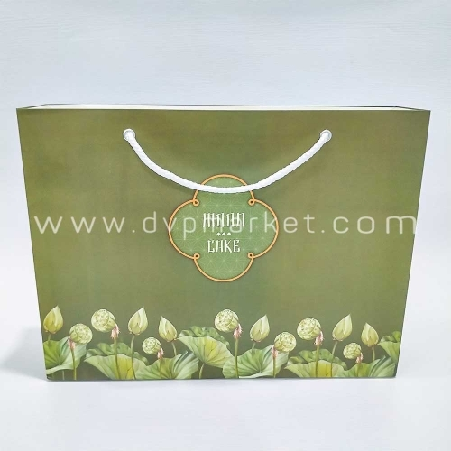 Bộ túi hộp trung thu 6 bánh 200-250g Sen Tím 2020