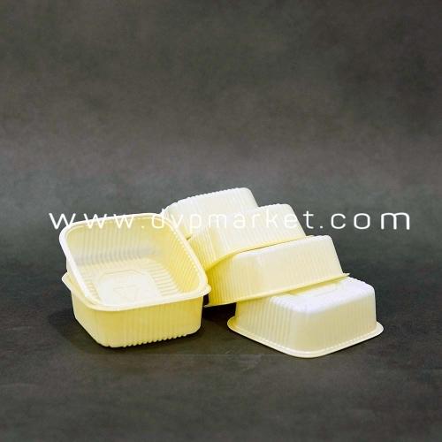 Khay TT màu kem 8.5cm bánh 125g (xấp 50)