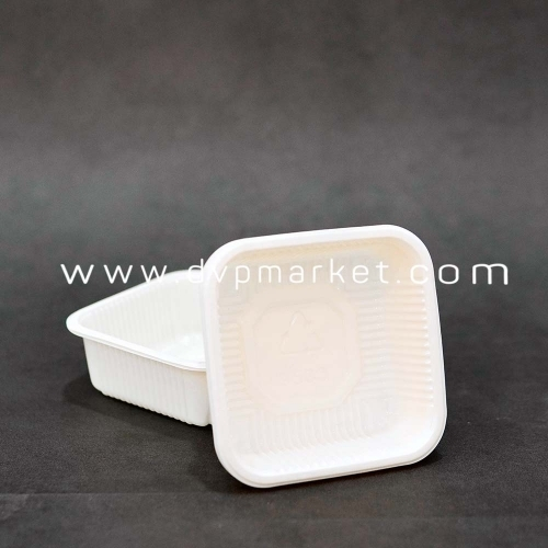 Khay TT màu kem 9.5 bánh 150-180g (Xấp 50)