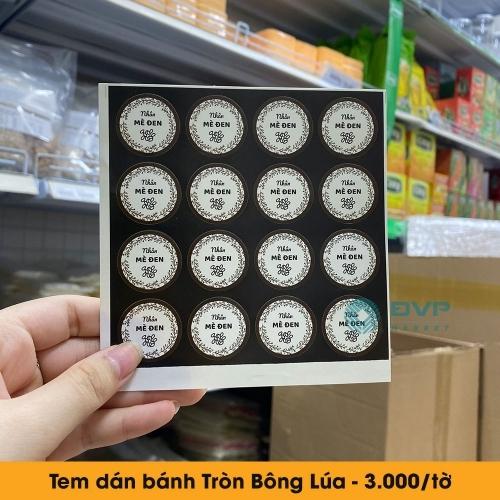 Tem trung thu - Tròn Bông Lúa 16c 2021
