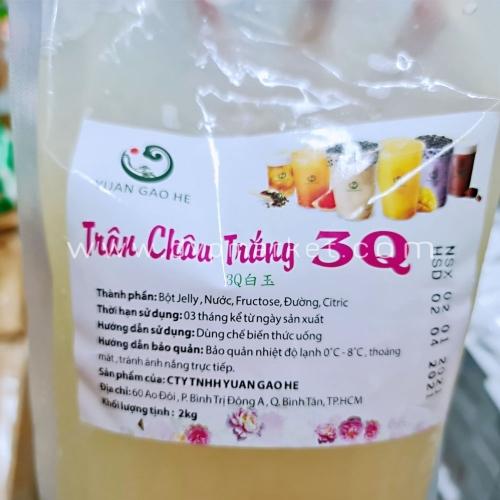 Hạt Trân Châu Yuan Gao He 3Q 2kg - Trắng