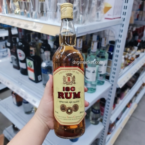 Rượu X Rum ISC 700ml