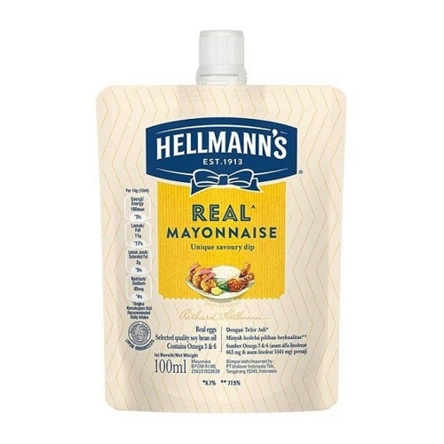 Hellmann's - Sốt mayonnaise 100ml
