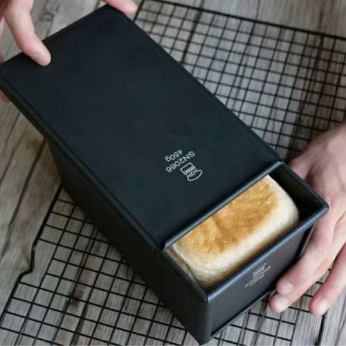 Sanneng SN2066 - Khuôn bánh Sandwich chống dính 450g (kèm nắp)
