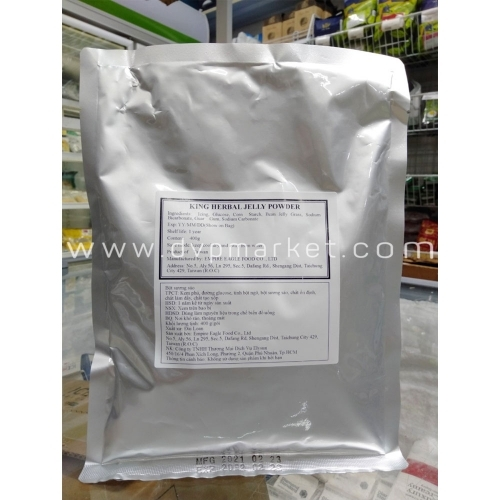 Bột sương sáo King 400g - King Herbal Jelly Powder