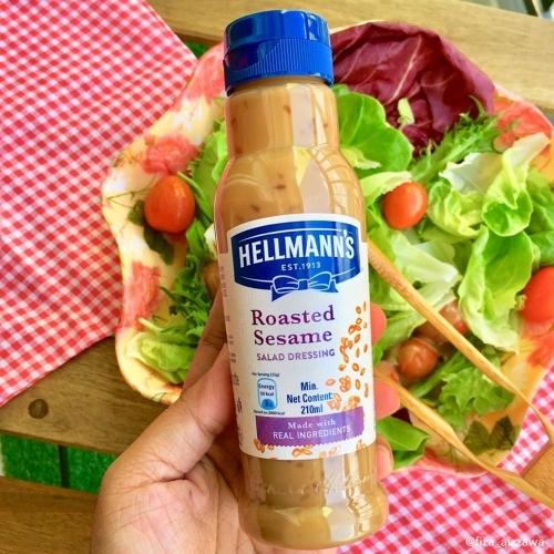 Hellmann's - Sốt salad mè rang 210ml