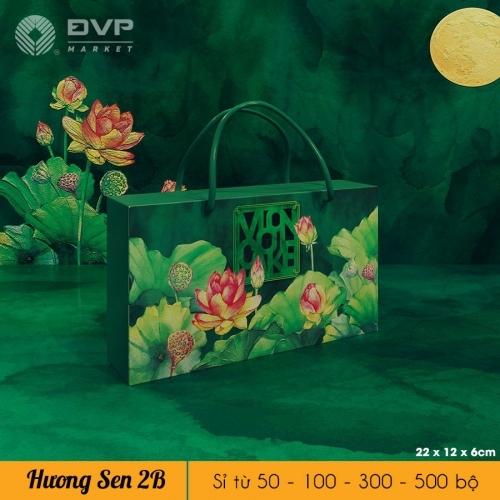 Bộ túi hộp TT 2 bánh 150-250g Hương Sen 2021