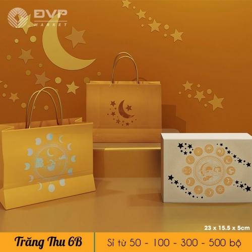 Bộ túi hộp TT 6 bánh 100g Trăng Thu 2021