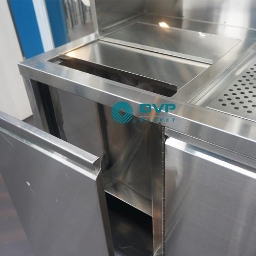 Hệ Inox 00002 Quầy Trà Sữa