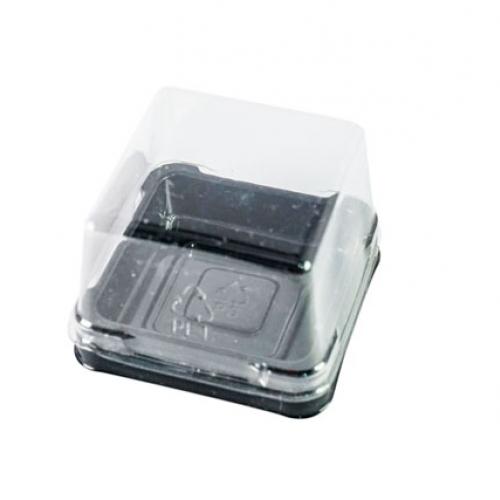 Hộp bánh Trung thu nhựa đế đen
