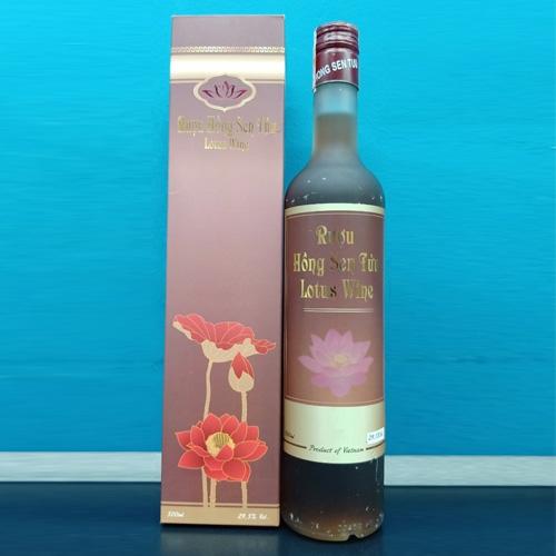 Rượu Sen Hồng 500ml