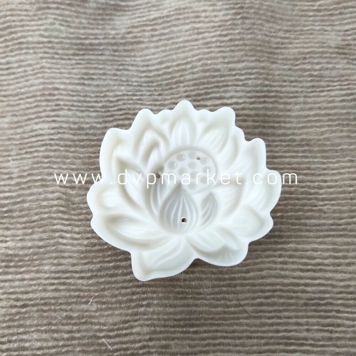 Khuôn bánh trung thu lò xo 50-70g 1 mặt hoa sen 2021