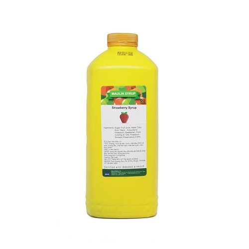 Maulin syrup strawberry 2.5kg