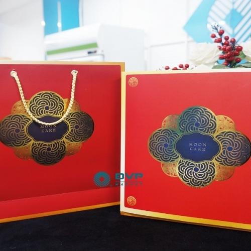 Bộ túi hộp trung thu 4 bánh Hoa Đăng 200 - 300g 2019