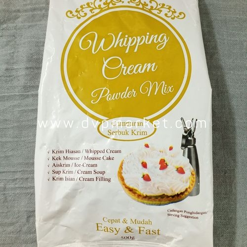 Bột whipping cream 0.5kg